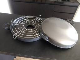 Churrasqueira antiaderente de fogão