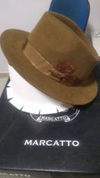 Chapéu de massa pelo de lebre