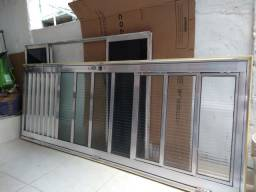 Conjunto porta e janela
