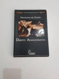 Livro elemento do direito administrativo