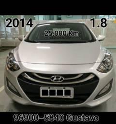 I30 Único dono 25 mil Km 1.8 Automático 1 ano de garantia