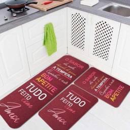 · Kit 3 Tapedes de Cozinha Impermeáveis