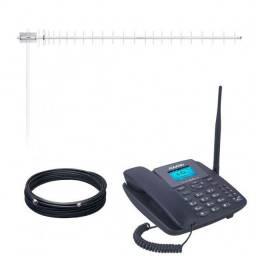 Telefone, antena rural e Cabo 850 reais parcelo no cartão *