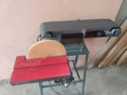 Lixadeira de fita e disco Acerbi