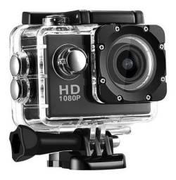 Câmera Esportiva Go Pro Full HD 1080P<br><br>