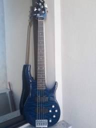 Bass Art Guitars 5C Ativo parcelo no cartão ML avalio trocas