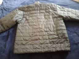Jaqueta em nylon paraquedas