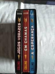 BOX da trilogia de Jogos vorazes