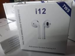 Fone Bluetooth i12 Tws ios Android