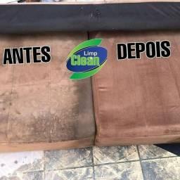 Lavagem a seco e higienização de sofá