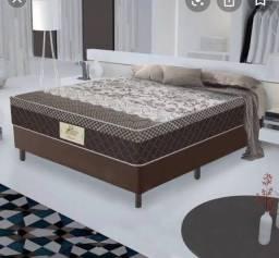 Vendo cama box casal mola