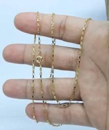 Cordao de ouro tijolinho