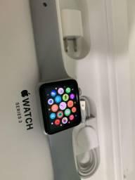 Apple Watch 3 42mm Prata - Completo