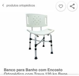 Cadeira para banho - lacrada na embalagem