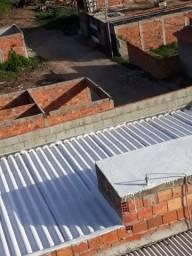 Lavagem e pinturas em telhados verniz resina  manta liquida