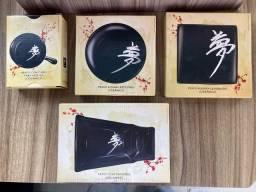 Jogo de Pratos Japoneses Coleção Caras Sonho Oriental