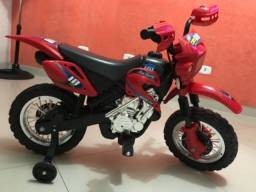 Mini moto Elétrica infantil Cross 6v -homeopatia