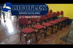 CADEIRAS PARA IGREJA RICOFLEX (10× SEM JUROS)