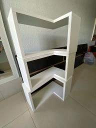 3 nichos de parede lateral