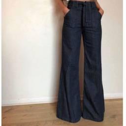 Calça jeans flare linda!!!