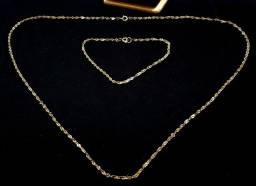 Conjunto de semi joia peça antiga