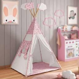 Cabana Tenda Infantil Mundo Mágico e Casinha