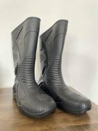 Bota para chuva Motosafe Moto Impermeável Motoqueiro