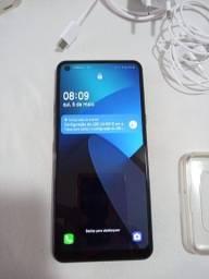 Celular Smartphone LG K51s Titanium completo