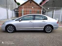 Raridade! Civic LXL 2011 automático top de linha impecável