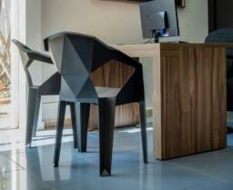 Título do anúncio: Cadeiras Poltronas 3D 180kg + Mesas