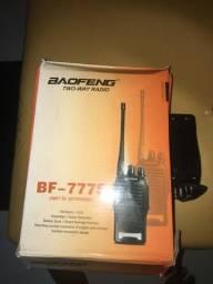 Rádio comunicador bf-777s NOVO
