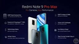 Note 9 Pro Max Azul/Preto 6+64Gb