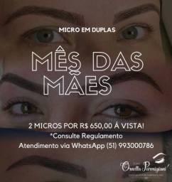 Promoção micro em dobro Dia Das Mães