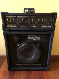 Sistema de som/ caixa e cabeçote