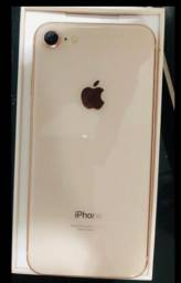 IPHONE 8 ROSE GOLD 64GB seminovo