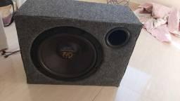 Caixa de som mais alto falante