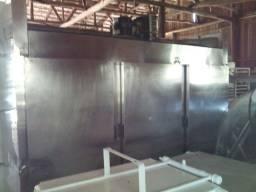 Geladeira com 6 portas em aço inox (troco) Leia a descrição