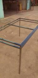 Estrutura mesa inox