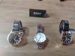 Relógio Curren masculino original,novo,entrega todo Brasil