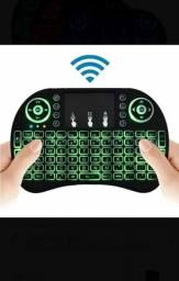 Mini teclado com led
