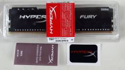 Memória HyperX Fury, 16GB, 2666MHz, DDR4, CL16, Preto - HX426C16FB3/16
