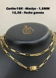 Cordão 18K Cartier NOVO