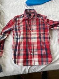 Kit camisas infantil TAM 8