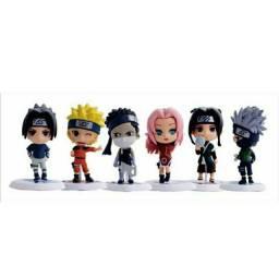 Miniaturas de Naruto CLÁSSICO e SHIPPUDEN