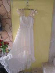 Lindo vestido para casamento social