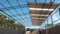 Estrutura metálica, nova (pronta entrega) para barracão/galpão - 15x25m - 375m²