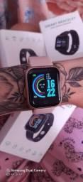 Relógio smart Y68 monitor de batimento cardíaco