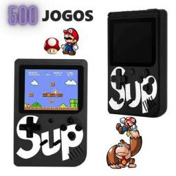 GAME PORTÁTIL + 500 JPGOS RETRO