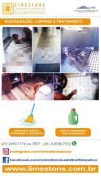 Limpeza e restauração de revestimentos diversos