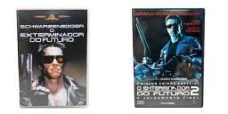 Kit Dvd O Exterminador Do Futuro 1 + O Exterminador Do Futuro 2 - O Julgamento Final